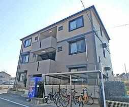 京都府京都市西京区桂上野西町の賃貸アパートの外観