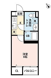 メゾン・ド 新検見川[1階]の間取り