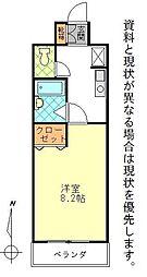 カーサ芳美II[408号室]の間取り