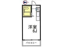 メゾン・ド・フルール八王子[2階]の間取り