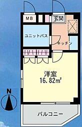 千葉県浦安市海楽2丁目の賃貸マンションの間取り