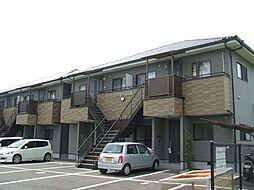 愛媛県松山市津吉町の賃貸アパートの外観