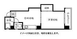 第3片山ビル--[504号室]の間取り