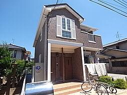 千葉県柏市八幡町の賃貸アパートの外観