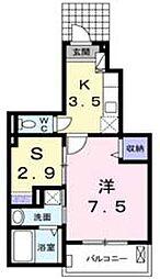 Lupicon Kusatsu[101号室]の間取り