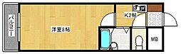 メゾンド長束[102号室]の間取り