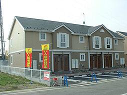 滋賀県蒲生郡日野町河原2丁目の賃貸アパートの外観