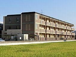 京都府京都市伏見区羽束師志水町の賃貸マンションの外観