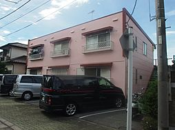 千葉県千葉市中央区本町2丁目の賃貸アパートの外観