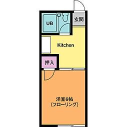 ガーデンプレイス[1階]の間取り