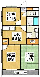 セプドール田村[2階]の間取り