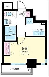東京都新宿区中落合3丁目の賃貸マンションの間取り