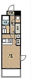 カルムドアビタシオン(大東建託)[1階]の間取り