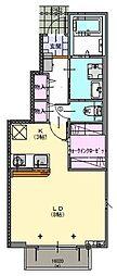 パークハウス A・B棟[1階]の間取り