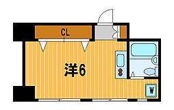 神奈川県川崎市宮前区有馬9丁目の賃貸マンションの間取り