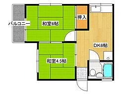 [テラスハウス] 兵庫県神戸市垂水区東垂水1丁目 の賃貸【/】の間取り