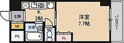 ルミエ新大阪[4階]の間取り