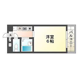 シャトル西神戸[1階]の間取り