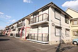 ハウスパインカウンティB[1階]の外観