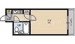 イズミパート10[7階]の間取り