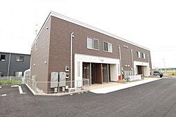茨城県つくば市みどりの東の賃貸アパートの外観