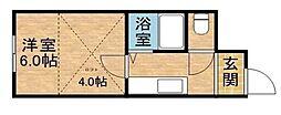 N235[9階]の間取り