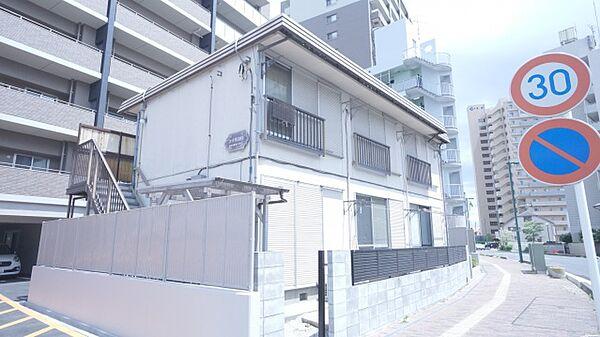 埼玉県熊谷市銀座3丁目の賃貸アパートの外観