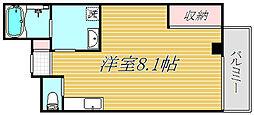 イルリッシュ立花[3階]の間取り