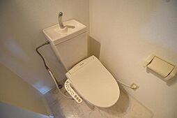 置地マンションのトイレ