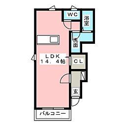 プロムナード[1階]の間取り