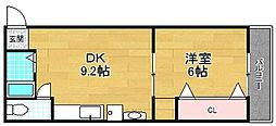 アムールII[2階]の間取り