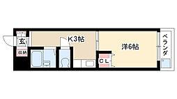 昭和ビル[201号室]の間取り