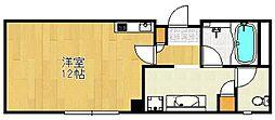 クレアジオーネ中之島西[3階]の間取り