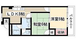 中町田ビル[1階]の間取り
