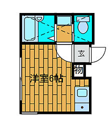 グリーンロード[2階]の間取り