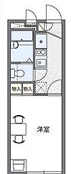 レオパレスフローレンスHN[2階]の間取り