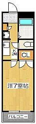東宝ビル[3階]の間取り