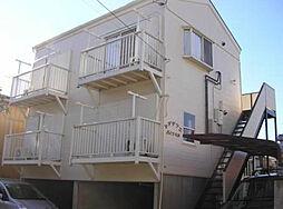 千葉県船橋市松が丘3丁目の賃貸アパートの外観