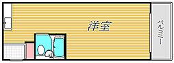 TOP桜新町第2[3階]の間取り
