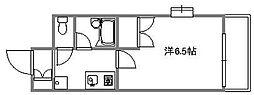 エクセレント楠木[605号室]の間取り