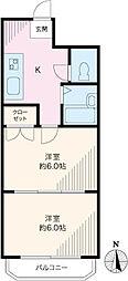 パークサイド並木[406号室]の外観