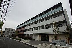 神奈川県川崎市中原区西加瀬の賃貸マンションの外観