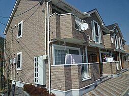 広島県東広島市八本松町正力の賃貸アパートの外観