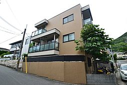 兵庫県神戸市東灘区岡本9丁目の賃貸マンションの外観