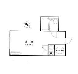 シャトレーイン横浜[6階]の間取り