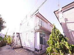 岡山県岡山市中区新京橋1丁目の賃貸アパートの外観