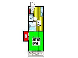 戸田城北マンション[2階]の間取り
