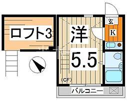 ライフピアプリペアー[2階]の間取り