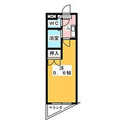 スリーゼK[3階]の間取り