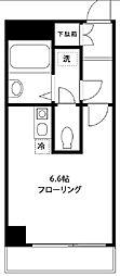 東京都大田区大森西3丁目の賃貸マンションの間取り